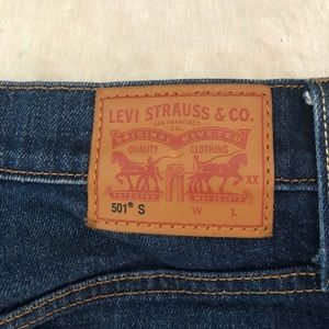Levi's Jeans - Levi's button fly high rise jeans
